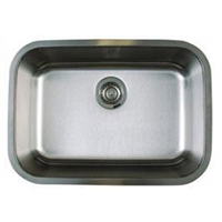 Blanco 441025 Stellar Medium Single Bowl Undermount Kitchen Sink - Stainless Steel