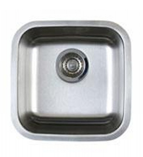 Blanco 441026 Stellar Single Bowl Undermount Bar Sink   Stainless Steel