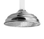 Brasstech 2092/10B 12-Inch Overhead Showerhead - Oil Rubbed Bronze (Pictured in Chrome)