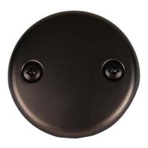Brasstech 266-10B Faceplate For Waste and Overflow - Oil Rubbed Bronze