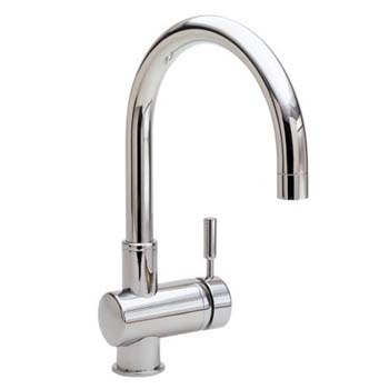 Newport Brass 2008-15S Single Hole Bar Faucet - Satin Nickel (Pictured in Polished Chrome)