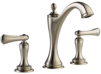 Brizo 65385LF-BNLHP Charlotte Two Handle Widespread Lavatory Faucet - Brilliance Brushed Nickel (Less Handles)