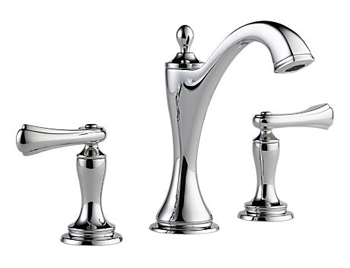 Brizo 65385LF-PCLHP Charlotte Two Handle Widespread Lavatory Faucet - Polished Chrome (Less Handles)