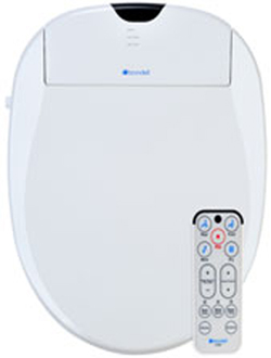 Brondell S900-EW Swash Elongated Bidet Toilet Seat - White
