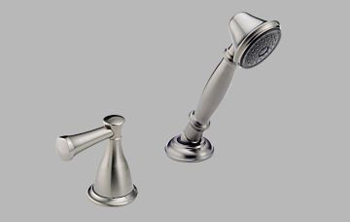 Delta H540SS Handheld Shower for Roman Tub - Stainless Steel