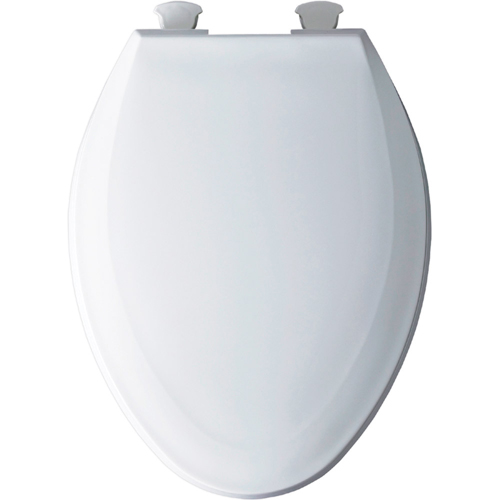 Bemis 1100ec 000 Elongated Closed Front Toilet Seat With