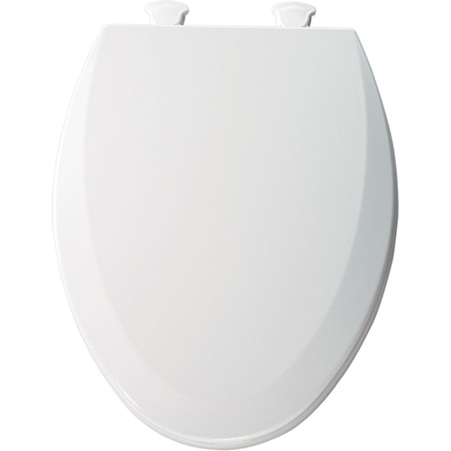 Bemis 1500EC.346 Elongated Closed-Front Toilet Seat with Cover - Bicuit (Pictured in White)