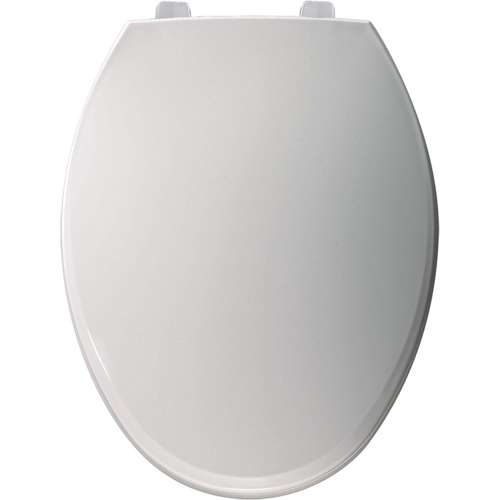 Bemis 7600T.000 Elongated Closed-Front Toilet Seat with Cover - White