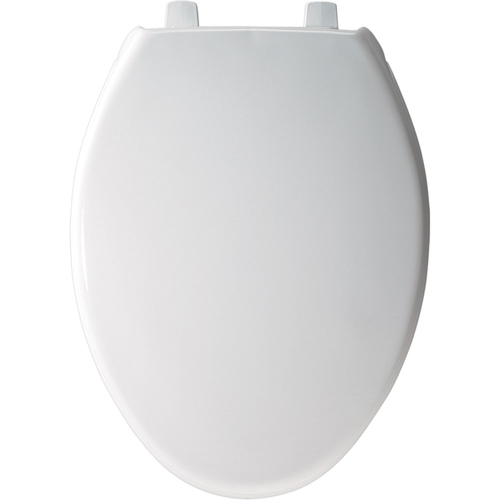 Bemis 7800TJDG.000 Elongated Closed-Front Toilet Seat with Cover - White