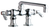 Chicago Faucets 772-ABCP E-CAST Service Sink Faucet - Chrome