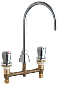 Chicago Faucets 786 E3 665abcp E Cast Hot And Cold