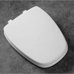 Bemis Seats 124-0205 Eljer Elongated Plastic Toilet Seat 213 - Peach Bisque (Picture shown in White)