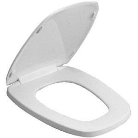 Outstanding Bemis Seats 124 0205 Eljer Elongated Closed Front With Cover Toilet Seat 000 White Theyellowbook Wood Chair Design Ideas Theyellowbookinfo