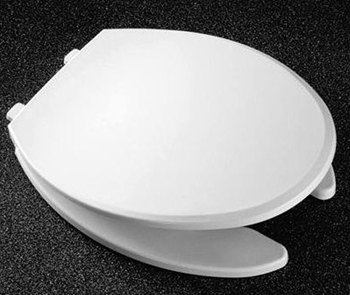 Church Seats 1400CH Elongated Closed Front with Cover Toilet Seat 000 - White