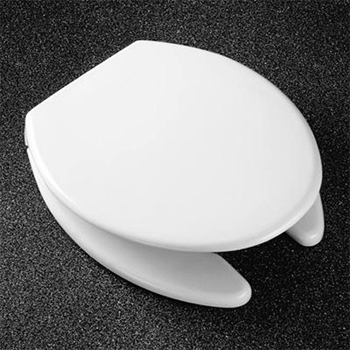 Church Seats 293SS Elongated Open Front With Cover Toilet Seat 000 White