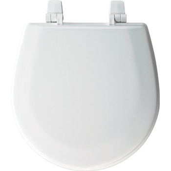 Bemis Seats TC50TTA Marine Bowl Closed Front with Cover Round Toilet Seat 000 - White