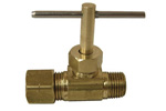 Compression and Needle Valves