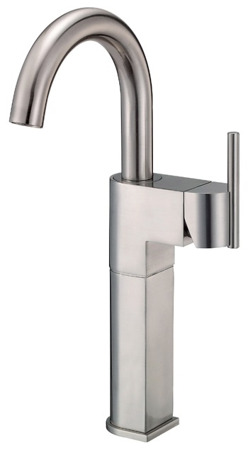 Danze D201542BN Como Single Handle Lavatory Vessel Filler Brushed Nickel