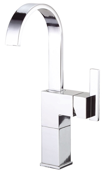Danze D201544 Sirius Single Handle Lavatory Vessel Filler Chrome