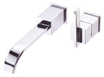 Danze D216044T Sirius Single Handle Wall Mount Faucet Trim Chrome