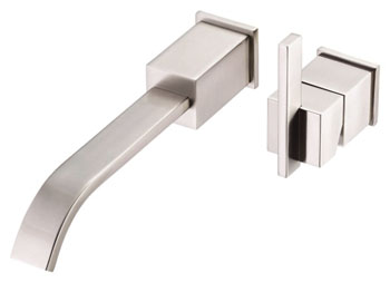 Danze D216044BNT Sirius Single Handle Wall Mount Faucet Trim Brushed Nickel