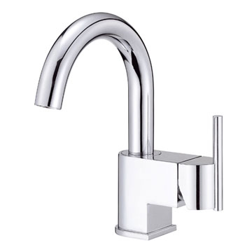 Danze D221542 Como Single Handle/Hole Lavatory Faucet Chrome