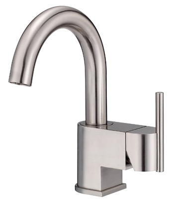 Danze D221542BN Como Single Handle/Hole Lavatory Faucet Brushed Nickel
