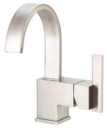 Danze D221544BN Sirius Single Handle Centerset Lavatory Faucet Brushed Nickel