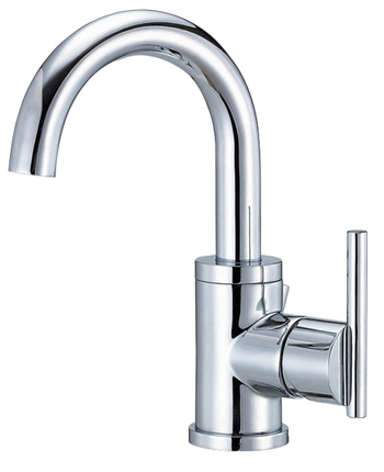 Danze D221558 Parma Single Handle/Hole Lavatory Faucet with High Rise Spout Chrome