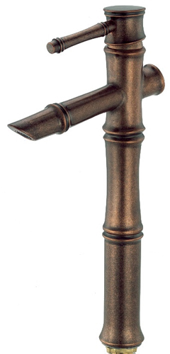 Danze D225045RBD South Sea Single Handle Vessel Filler Distressed Bronze