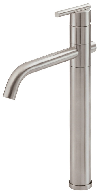 Danze D225058BN Parma Single Handle/Hole Vessel Filler Brushed Nickel