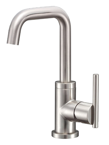 Danze D231558BN Parma Trim Line Single Handle/Hole Lavatory Faucet Brushed Nickel