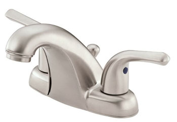 Danze D301012BN Melrose Two Handle Centerset Lavatory Faucet - Brushed Nickel