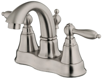 Danze D301040BN Fairmont Two Handle Centerset Lavatory Faucet Brushed Nickel