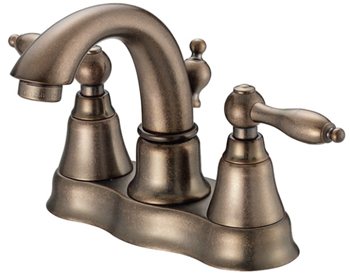 Danze D301040RBD Fairmont Two Handle Centerset Lavatory Faucet Distressed Bronze