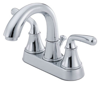 Danze D301056 Bannockburn Two Handle Centerset Lavatory Faucet Chrome