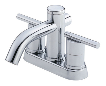 Danze D301058 Parma Two Handle Centerset Lavatory Faucet Chrome