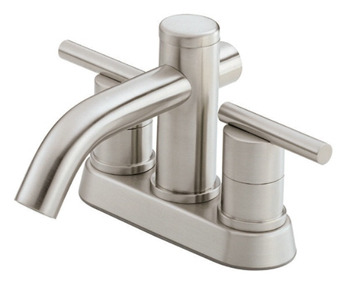 Danze D301058BN Parma Two Handle Centerset Lavatory Faucet Brushed Nickel