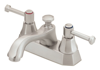 Danze D301068BN Brandywood Two Lever Handle Centerset Lavatory Faucet Brushed Nickel