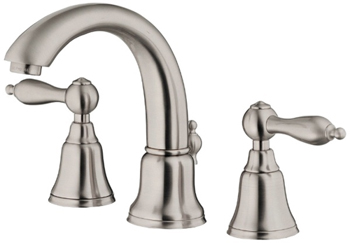 Danze D303040BN Fairmont Two Handle Mini-Widespread Lavatory Faucet Brushed Nickel