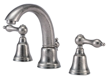Danze D303040DN Fairmont Two Handle Mini-Widespread Lavatory Faucet Distressed Nickel