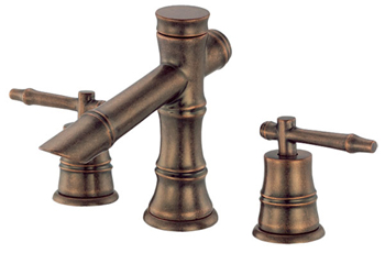 Danze D303045RBD South Sea Two Handle Mini-Widespread Lavatory Faucet Distressed Bronze