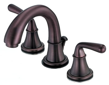 Danze D303056RB Bannockburn Two Handle Mini-Widespread Lavatory Faucet Oil Rubbed Bronze