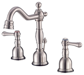 Danze D303057BN Opulence Two Handle Mini-Widespread Lavatory Faucet Brushed Nickel