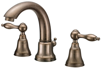 Danze D304040RBD Fairmont Two Handle Widespread Lavatory Faucet Distressed Bronze