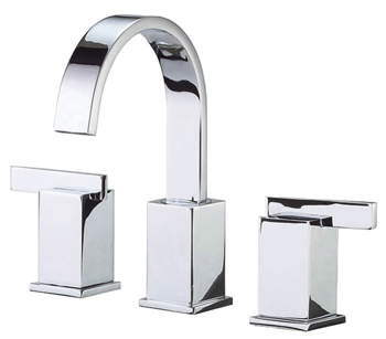 Danze D304044 Sirius Two Handle Widespread Lavatory Faucet Chrome