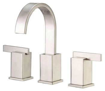 Danze D304044BN Sirius Two Handle Widespread Lavatory Faucet Brushed Nickel