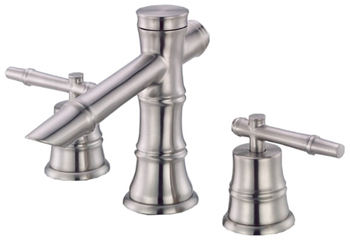Danze D304045BN South Sea Two Handle Widespread Lavatory Faucet Brushed Nickel