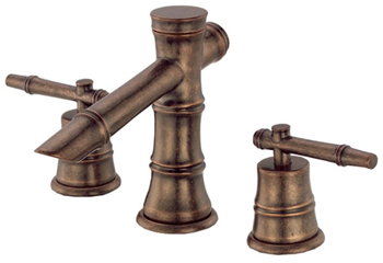 Danze D304045RBD South Sea Two Handle Widespread Lavatory Faucet Brushed Distressed Bronze