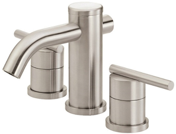 Danze D304058BN Parma Two Handle Widespread Lavatory Faucet Brushed Nickel